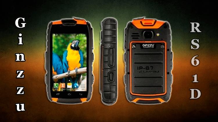 Обзор смартфона Ginzzu RS61D Ultimate