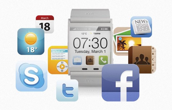 Наручные часы Android