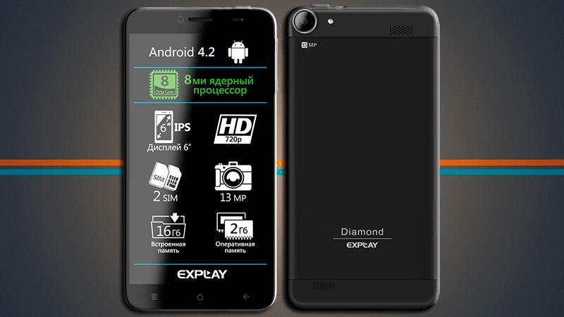 Обзор смартфона Explay Diamond