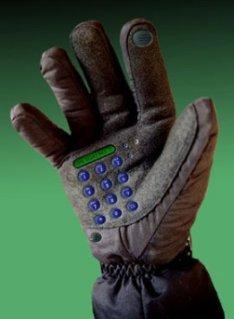 Телефон-перчатка