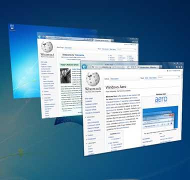 Как отключить Windows Aero в Windows 7?
